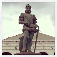 Photo taken at Plaza 9 de Julio by kassanmoor on 2/18/2013