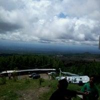 Photo taken at Gardu Pandang Merapi (Rotary 3400) by danis a. on 1/1/2013