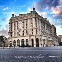 Снимок сделан в Four Seasons Hotel Baku пользователем Fariz F. 12/3/2012