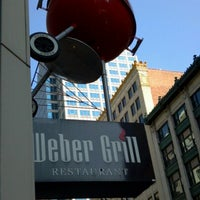 Photo taken at Weber Grill Restaurant by Lou C. on 9/29/2012