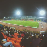 Photo taken at Central Stadium by Ринат Б. on 9/27/2015