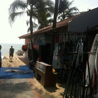 Photo taken at Jibe's Watersports Centre by Daniel I. on 12/27/2013