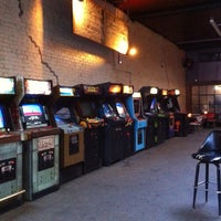 Photo taken at Barcade by Jay E. on 5/12/2013