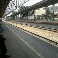 Photo taken at Stasiun Cawang by Muhammad I. on 8/27/2013