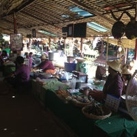 Photo taken at Talard Kong Khong by Prd on 10/28/2012