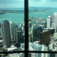 Photo taken at Sky Tower by Ruslana on 2/28/2013