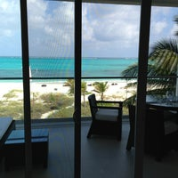 Photo taken at Gansevoort Turks & Caicos by Dov C. on 2/27/2013