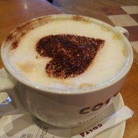 Photo taken at Costa Coffee by Kristia W. on 2/22/2013