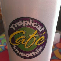 Photo taken at Tropical Smoothie Cafe by Valori F. on 5/21/2013