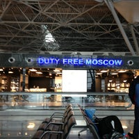 Photo taken at Duty Free Moscow by Cagatay Ryan on 3/24/2013