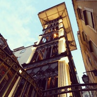 Photo taken at Elevador de Santa Justa by Victor D. on 7/3/2013