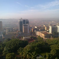 Photo taken at Sheraton Kampala Hotel by Nigel D. on 2/5/2013