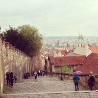 Photo taken at Prague Castle by Victor L. on 5/4/2013