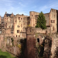 Photo taken at Heidelberger Schloss by Rodrigo F. on 10/21/2012