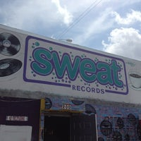 Photo taken at Sweat Records by Julie F. on 4/20/2013
