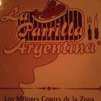 Photo taken at La Parrilla Argentina by Mauricio G. on 3/23/2014