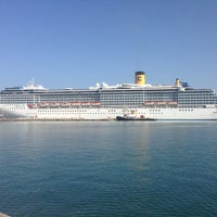 Photo taken at Dubrovnik Port by Toprak Y. on 6/26/2013