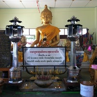 Photo taken at วัดพลา by Sutra on 4/7/2014