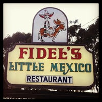 "Photo taken at Fidel's Little Mexico by Derek ""d☊rewreck"" Schaefer on 8/22/2013"
