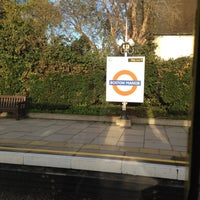 Photo taken at Boston Manor London Underground Station by Nick P. on 11/2/2012