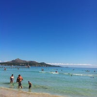 Photo taken at Muro Beach by Артур on 9/15/2012