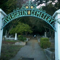 Photo taken at Evergreen Cemetery by Jonathan S. on 11/13/2012