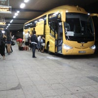 Photo taken at Central Coach Station Berlin by Jakub H. on 7/28/2013