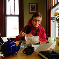 Photo taken at College Hill Coffee by Tait on 2/4/2014