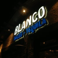 Photo taken at Blanco Tacos + Tequila by Aleksander R. on 4/8/2013