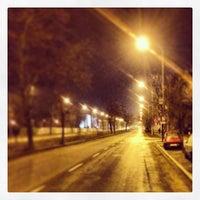 Photo taken at Przystanek AWF (tram) by Marek R. on 12/26/2013