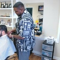 Photo taken at Visionz Barber & Beauty Lounge by Rodrick S. on 4/5/2014