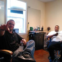 Photo taken at Visionz Barber & Beauty Lounge by Rodrick S. on 9/18/2013