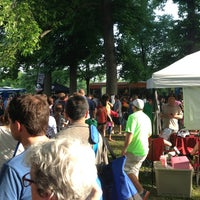 Photo taken at Food Truck Friday @ Tower Grove Park by Ryan C. on 6/14/2013