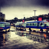 Photo taken at Terminal de Buses de Puerto Montt by Diego O. on 4/10/2013