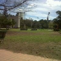 Photo taken at Parque Rivadavia by Marilina S. on 10/4/2012