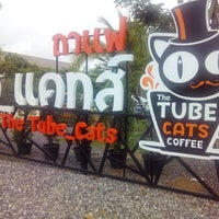 Photo taken at the tube_cats by Taew N. on 8/30/2014
