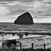Photo taken at Pacific City, OR by Nick C. on 3/17/2013