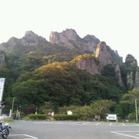 Photo taken at 妙義公園駐車場 by camomile_ss on 9/26/2012