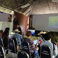 Photo taken at ศูนย์การเรียนรู้เศรษฐกิจพอเพียงตำบลอุโมงค์ by Jacky on 10/28/2012