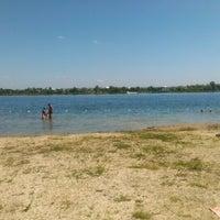 Photo taken at Робинзон Пляж by Ihor M. on 8/4/2013