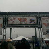 Photo taken at Reliant Purple Lot by Jose R. on 4/6/2014