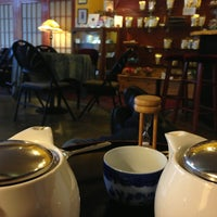 Photo taken at Teahouse Kuan Yin by Matthew B. on 12/27/2012