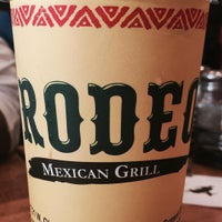 Photo taken at Rodeo Mexican Grill by Christopher N. on 9/12/2015