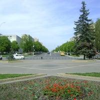 Photo taken at Майдан Свободи by Оксана Р. on 7/4/2013
