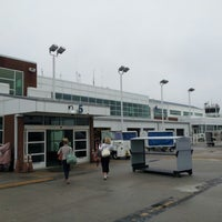 Photo taken at Charlottesville-Albemarle Airport (CHO) by Kellie S. on 10/2/2012