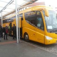 Photo taken at Florenc (bus) by Marek K. on 10/24/2012