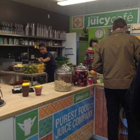 Photo taken at The Juicy Café by Sarah on 3/8/2013