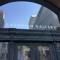 Photo taken at Gagosian Gallery by Sarah on 7/22/2016