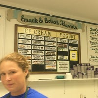 Photo taken at Emack & Bolio's by Sarah on 8/28/2016