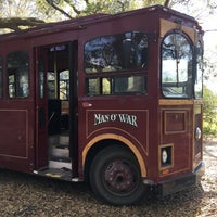 Photo taken at Charleston Tea Plantation Trolley by Sarah on 3/26/2017